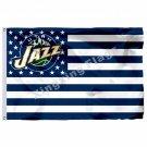 Utah Jazz Nation Flag 3ft X 5ft Polyester NBA1 Utah Jazz Banner Flying Size No.4