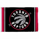 Toronto Raptors Volumn Flag 3ft X 5ft Polyester NBA1 Toronto Raptors Banner Flyi