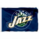 Utah Jazz Flag 3ft X 5ft Polyester NBA1 Utah Jazz Banner Flying Size No.4 90*150