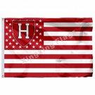 Harvard Crimson Nation Flag 3ft X 5ft Polyester NCAA Banner Flying Size No.4 90*