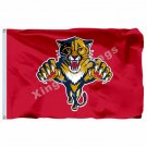 Florida Panthers Large Logo Flag 3FT x5 FT 150X90CM Banner 100D Polyester NHL fl