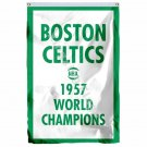 Boston Celtics 1957 World Champions Flag 3ft x 5ft Polyester NBA Team Banner Fly