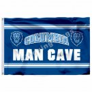 Columbia Lions MAN CAVE Flag 3ft x 5ft Polyester NCAA Columbia Lions Banner Flyi