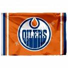 Edmonton Oilers Flag 3ft x 5ft Polyester NHL Banner Edmonton Oilers Flying Size