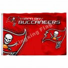 Tampa Bay Buccaneers New Wordmark Flag 3ft x 5ft Polyester NFL Tampa Bay Buccane