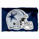 Dallas Cowboys Flag 3ft X 5ft Polyester NFL1 Banner Dallas Cowboys Flying Size N