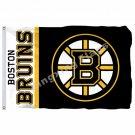 Boston Bruins Wordmark Flag 3ft X 5ft Polyester NHL Banner Boston Bruins Wordmar