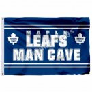 Toronto Maple Leafs Man Cave Flag 3ft X 5ft Polyester NHL Banner Toronto Maple L