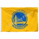 Golden State Warriors Large Logo Flag 3ft X 5ft Polyester NBA Golden State Warri