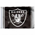 Oakland Raiders Column Flag 3ft X 5ft Polyester NFL Oakland Raiders Banner Flyin