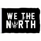 Toronto Raptors Flag 3ft x 5ft Polyester NBA Toronto Raptors Banner Flying Size