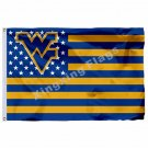 West Virginia Mountaineers Nation Flag 3ft X 5ft Polyester NCAA Banner Flying Si