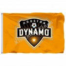 Houston Dynamo Flag 3ft X 5ft Polyester MLS Houston Dynamo Banner Flying Size No