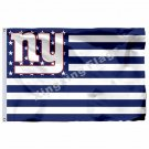 New York Giants With Modified US Flag 3ft X 5ft Polyester NFL Banner Flying Size