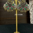 Oxidised High Quality Indian Bollywood Ethnic Wedding Antique Earrings Wi388