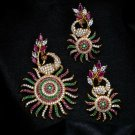 High Quality Indian Bollywood Ethnic Partywear fashion Necklace Pendant Set TT0
