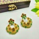 High Quality kundan Indian Bollywood Ethnic Wedding fashion Earrings SU652