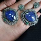 2.87Ctw Rose Cut diamond handmade Wedding 925 Silver Drop/Dangle Earrings ms231