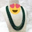 High quality Handmade Designer Fashion Onyx Stone Necklace Wm892