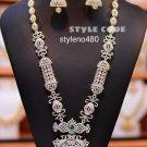 South Indian High Quality Bollywood Ethnic Fashion Partywear Necklace Set bU443