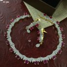 Cz High Quality Bollywood Fashion Partywear Designer Wedding Necklace Set UM606