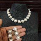 Kundan Handmade Indian Bollywood Ethnic Fashion Partywear Necklace Set qc160