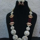 Kundan High Quality Indian Bollywood Ethnic Fashion Partywear Necklace Set VL618