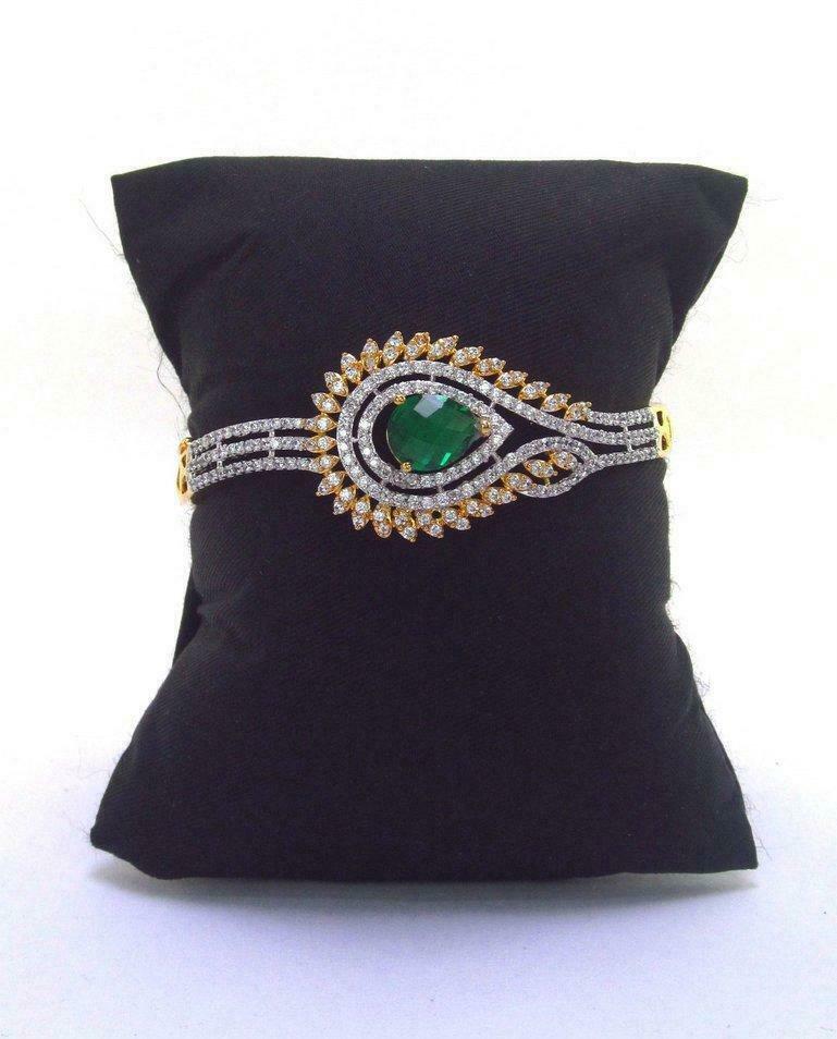 Cz High Quality Indian Bollywood Fashion Partywear Wedding Bracelet qq304