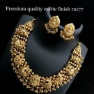 South Indian High Quality Indian Bollywood Partywear Necklace Set HM y930