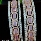 Cz South Indian High Quality Bollywood Ethnic Partywear Bangle Bracelet V697