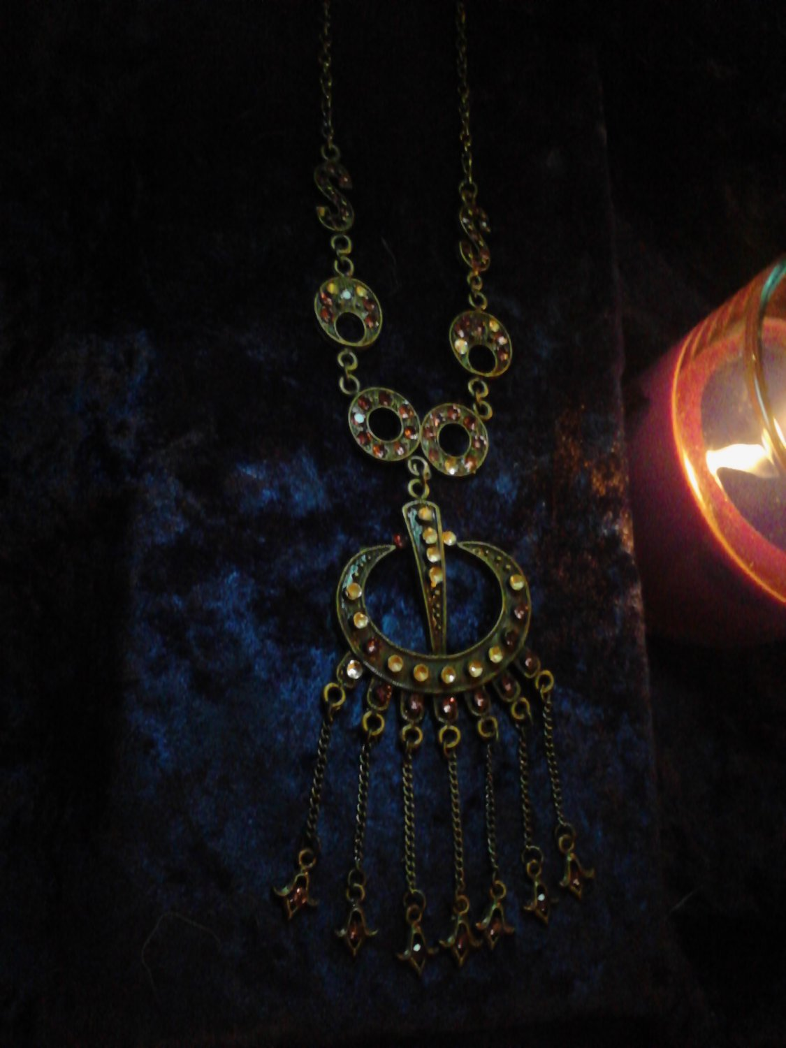 Haunted BECOME PSYCHIC necklace-Gain psychic abilities-attract spirits-use as pendulum,etc.