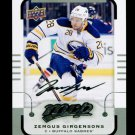 2015-16 MVP Hockey  Silver Script Parallel  #3  Zemgus Girgensons