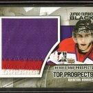 2010-11 ITG Heroes & Prospects Top Jumbo Number Black x/6  #JM-18 Quinton Howden