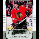 2015-16 MVP Hockey  Silver Script Parallel  #66  Andrew Shaw