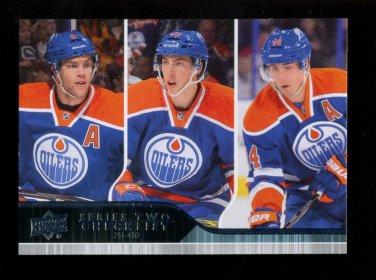 2014-15 Upper Deck Hockey Series 2 Complete Base Set of 200 cards  #251-450