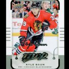 2015-16 MVP Hockey  Silver Script Parallel  #197  Kyle Baun  RC