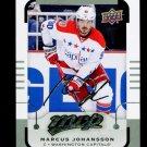 2015-16 MVP Hockey  Silver Script Parallel  #48  Marcus Johansson