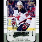 2015-16 MVP Hockey  Silver Script Parallel  #89  Patrik Elias
