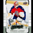 2015-16 MVP Hockey  Silver Script Parallel  #19  Roberto Luongo