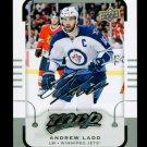 2015-16 MVP Hockey  Silver Script Parallel  #134  Andrew Ladd