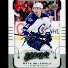 2015-16 MVP Hockey  Silver Script Parallel  #33  Mark Scheifele