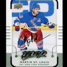 2015-16 MVP Hockey  Silver Script Parallel  #156  Martin St. Louis