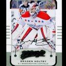 2015-16 MVP Hockey  Silver Script Parallel  #26  Braden Holtby