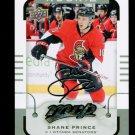 2015-16 MVP Hockey  Silver Script Parallel  #184  Shane Prince  RC
