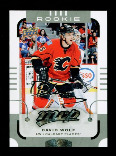 2015-16 MVP Hockey  Silver Script Parallel  #178  David Wolf  RC