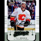 2015-16 MVP Hockey  Silver Script Parallel  #53  T.J. Brodie