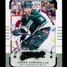 2015-16 MVP Hockey  Silver Script Parallel  #8  Jason Pominville
