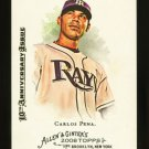 2015 Topps Allen & Ginter 10th Anniversary Buyback 2008  #185  Carlos Pena