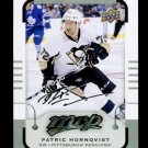 2015-16 MVP Hockey  Silver Script Parallel  #131  Patric Hornqvist