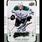 2015-16 MVP Hockey  Silver Script Parallel  #37  Jason Spezza
